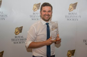 Royal television society Yorkshire programme awards 2018 at the Queen's hotel Leeds